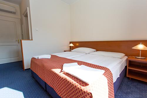 Air-conditioned Double or Twin Rooms
